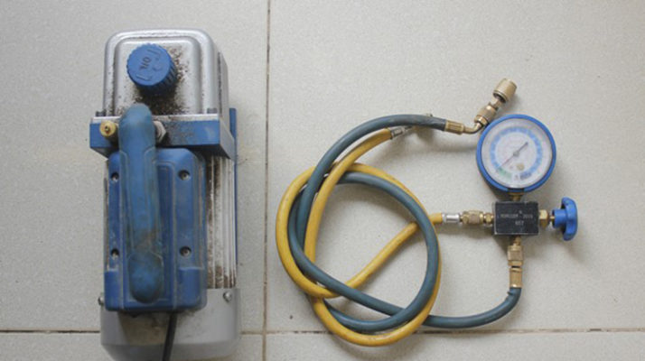 Tại sao phải hút chân không điều hòa trong quá trình lắp đặt máy lạnh?