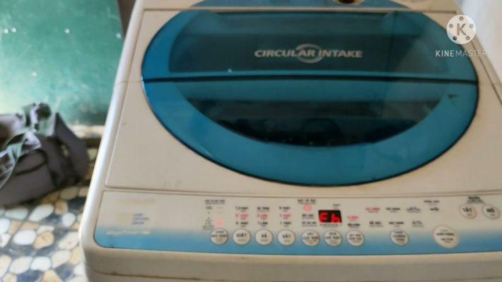 3 Cách sửa máy giặt Toshiba báo lỗi E6 chi tiết từ A – Z