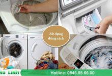 Những sai lầm khi sử dụng máy giặt gây hư hỏng – tốn điện