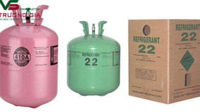Các loại gas máy lạnh thông dụng trên thị trường