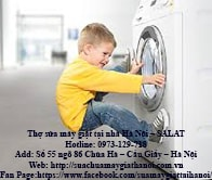 Hướng dẫn cách sửa lỗi máy giặt không mở được cửa nhanh và hiệu quả