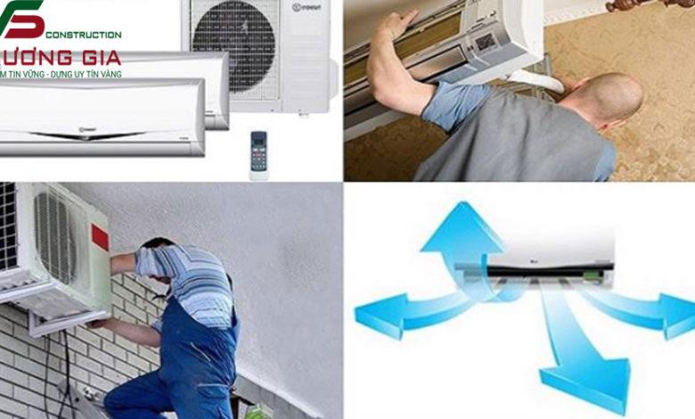 Lắp đặt máy lạnh giá rẻ an toàn hiệu quả tại tphcm