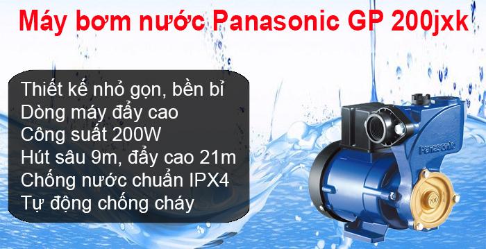 Máy bơm nước Panasonic GP 200jxk tại Đà Nẵng