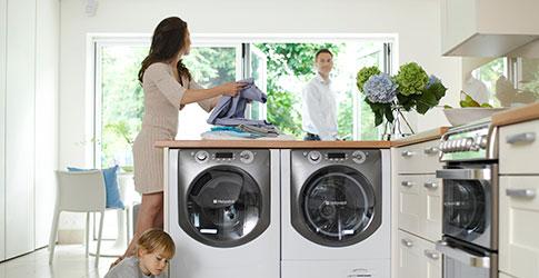 Vì sao máy giặt kêu to khi hoạt động