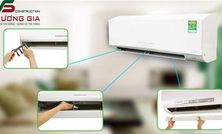 Cách tháo máy lạnh để vệ sinh đơn giản