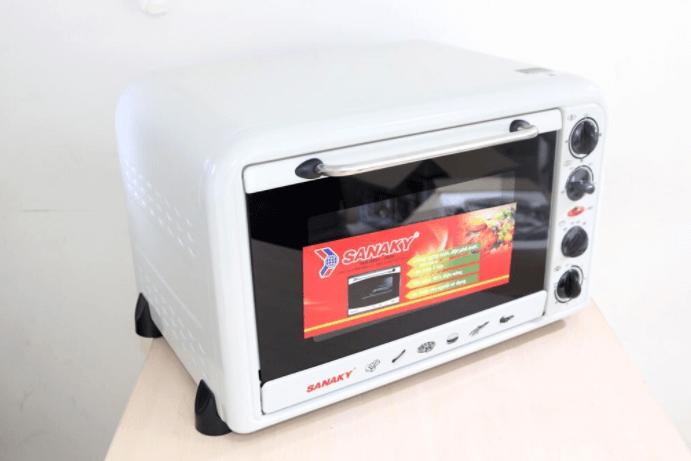 Lò nướng Sanaky: Thân thiện với mọi không gian nhà bếp