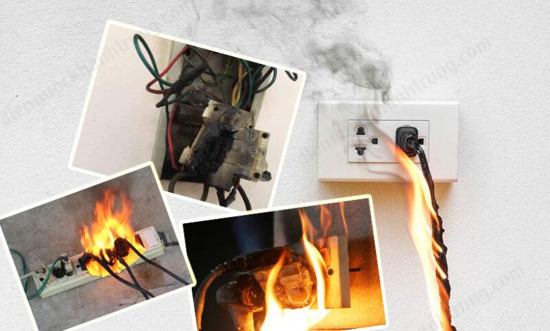 Chập Điện là gì ? Cách Sửa Điện Chập Tại Nhà
