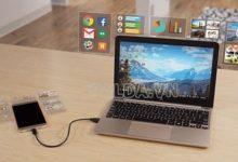 Hướng dẫn chiếu màn hình Android lên PC bằng cáp chi tiết