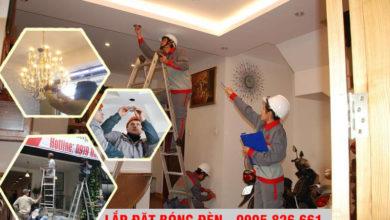 Sửa Chữa, Lắp bóng Đèn Leb, Đèn Chùm, Đèn Lon tại Đà Nẵng