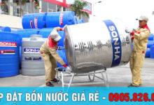 Sửa Chữa, Lắp đặt bồn nước inox tại Đà Nẵng