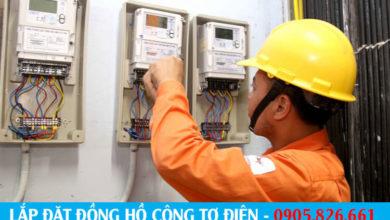 Lắp đặt công tơ điện tại Đà Nẵng