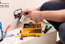 Sửa chữa điện nước quận 1 an toàn nhất